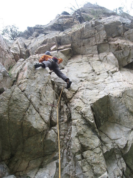 Rock Climbing Photo: eco challenging euan