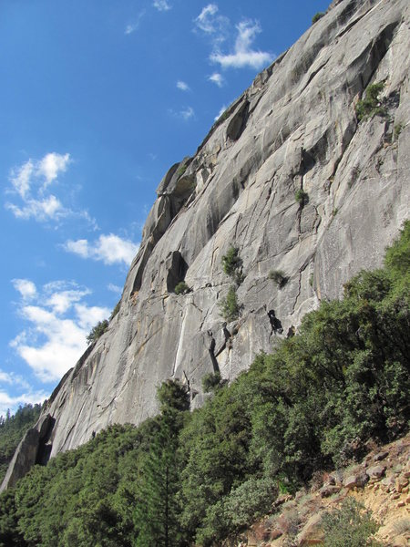 Rock Climbing Photo: General view of Reed's pinnacle area.