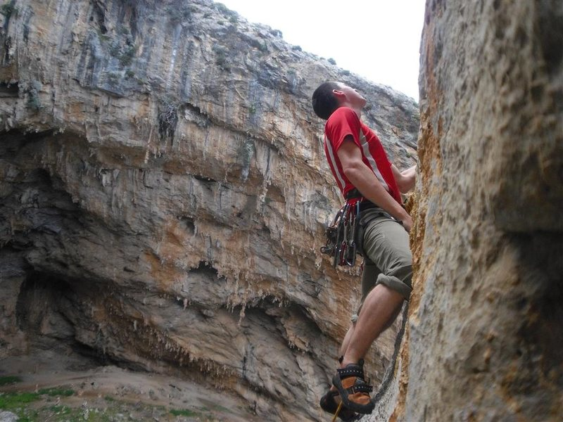 Rock Climbing Photo: sikati cave