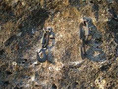 "Rock Climbing Photo: ""Short"" Mussy Hook Anchor"
