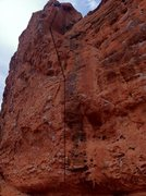 Rock Climbing Photo: From the description this seems to be the line for...