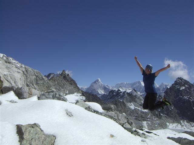 Rock Climbing Photo: Yippee!