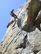 Rock Climbing Photo: A quick climb in Boulder Canyon