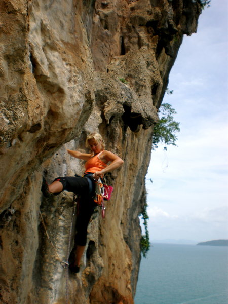 Rock Climbing Photo: Climbing in Thailand