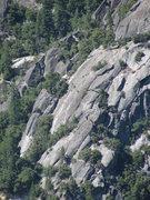 Rock Climbing Photo: Knob Hill area.