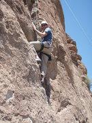 Rock Climbing Photo: Scott climbing 'Mr. Solo'