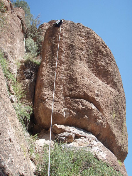 Rock Climbing Photo: Top rope on 'Screaming Deamons'