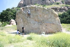 Rock Climbing Photo: Albert Ramirez 5-21-11
