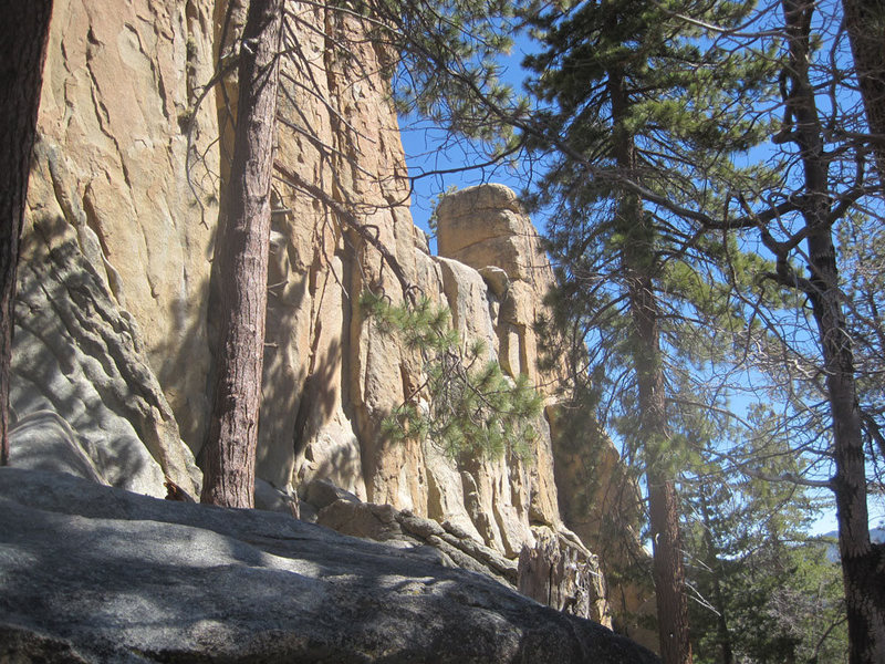 Rock Climbing Photo: Almost looking like a Castle, with the Black Tower...