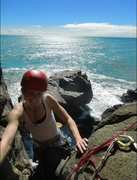 Rock Climbing Photo: climbing at Charleston, NZ