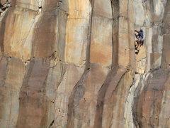 Rock Climbing Photo: flashflood