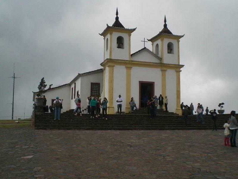 The sanctuary at the top of Serra da Piedade.