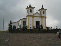 Rock Climbing Photo: The sanctuary at the top of Serra da Piedade.