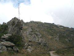 Rock Climbing Photo: Piedade and its itabirite.