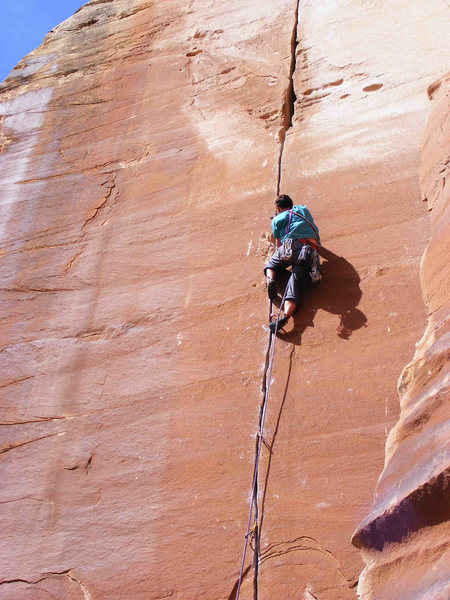 Rock Climbing Photo: Sweet milk.