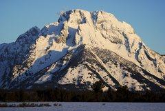 Rock Climbing Photo: Mt. Moran