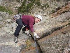Rock Climbing Photo: YAY! Topping out P3.