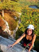 Rock Climbing Photo: finishing Arrow!