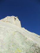 Rock Climbing Photo: at the first rap head climber's left