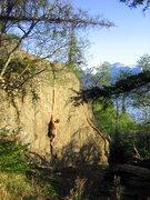 Rock Climbing Photo: Will on Butt Crack.