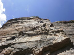 Rock Climbing Photo: Five and Dime.