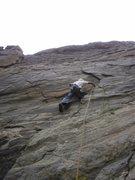 Rock Climbing Photo: Headed to the Kwik-E-Mart.