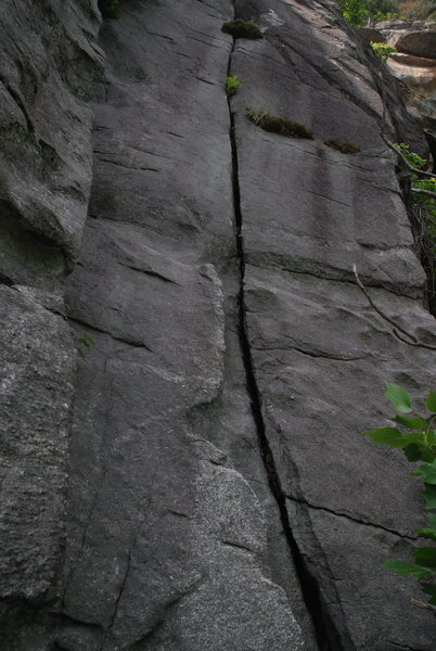 Rock Climbing Photo: The crack and corner