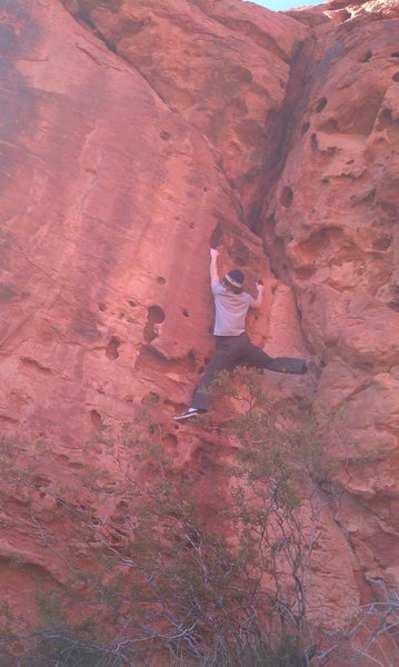 Rock Climbing Photo: bouldering in st.g