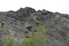 Rock Climbing Photo: Everyone had the same idea we did.
