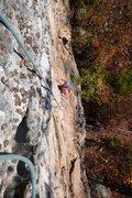 Rock Climbing Photo: Passing Roof.