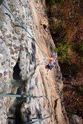 Rock Climbing Photo: Rest/chalk.