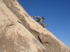 Rock Climbing Photo: Me on Walkaway - my standard solo.  photo by Sadie...