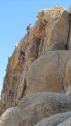 Rock Climbing Photo: Setting up the TR for Count on your Fingers.  phot...