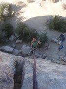 Rock Climbing Photo: Myong rapping Butterfingers.