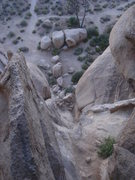 Rock Climbing Photo: After a fun solo of the Eye, a look back down the ...