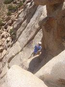 Rock Climbing Photo: Jason setting a TR on Beck's Bear.