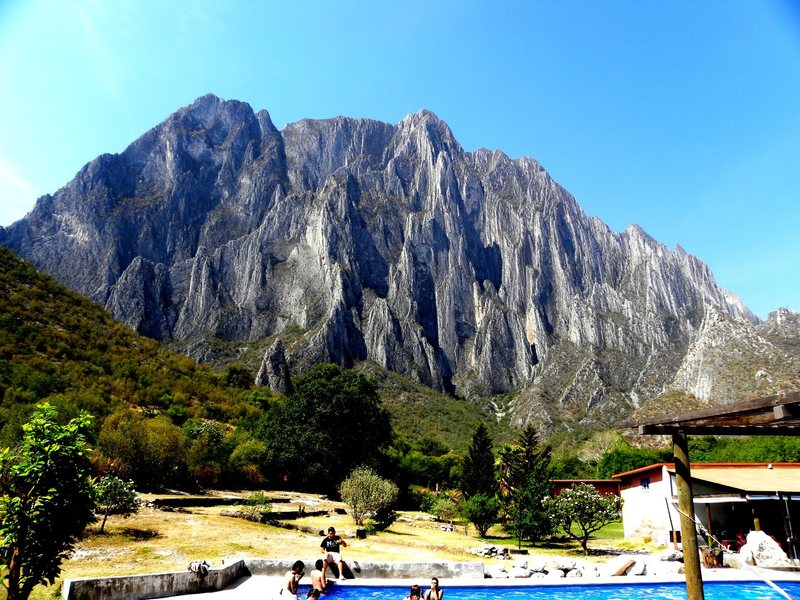 Picture taken from La Posada Camping-Lodging of Potrero Chico