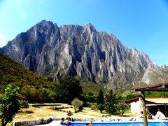Rock Climbing Photo: Picture taken from La Posada Camping-Lodging of Po...