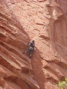 Rock Climbing Photo: Logan Berndt on Crescent Corner.