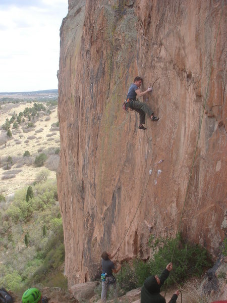 Rock Climbing Photo: Ben Colter on the Extremist (aka Civil Disobedienc...