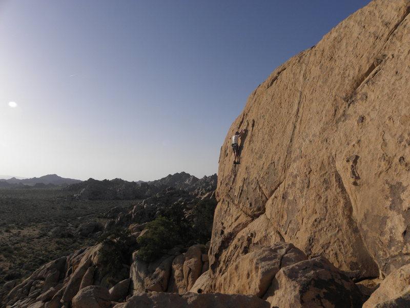 Rock Climbing Photo: Grumpy.....