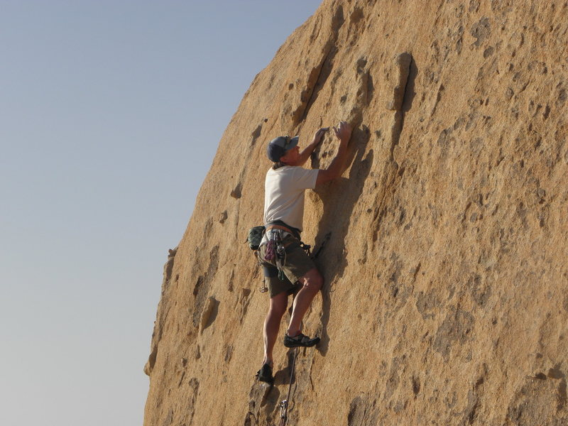 Rock Climbing Photo: G.E. on Grumpy.