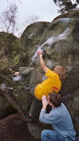Rock Climbing Photo: spot by Dan in Font
