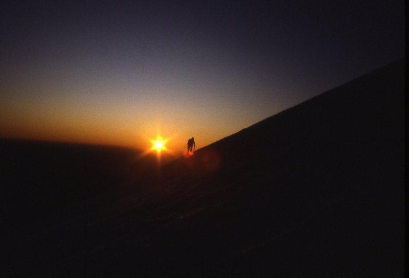 Rock Climbing Photo: Sunrise Hotlum Glacier, Mt Shasta