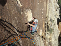 Rock Climbing Photo: Pitch 1 - beautiful crack climbing