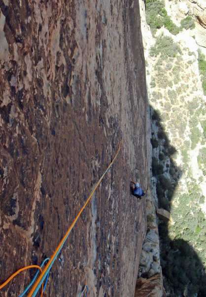 Rock Climbing Photo: American Flesh Dance pitch 4 - classic Black Velve...