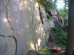 Rock Climbing Photo: Another shot of the wall.