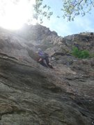 Rock Climbing Photo: Myong on Holiday Road.