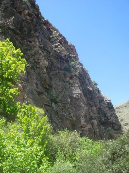 Rock Climbing Photo: A beautiful day at the Canal Zone.
