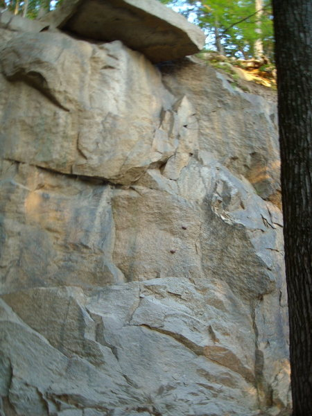 Rock Climbing Photo: Another route near the quarry entrance.